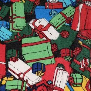 LULAROE hard to find - xmas gift pattern - EUC